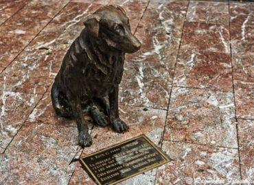 Estatua de Rufo en Oviedo