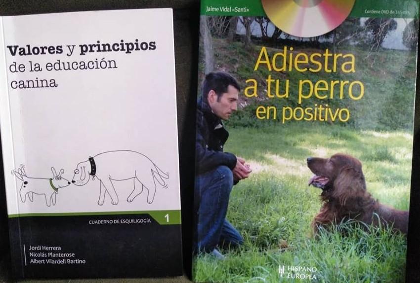 dos libros sobre comunicación canina
