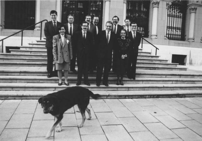 Rufo en una foto oficial en Oviedo